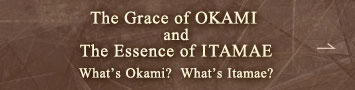 The Grace of OKAMI and The Essence of ITAMAE